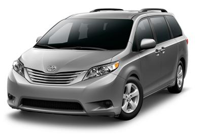 Lax Car Rental  Passenger Van